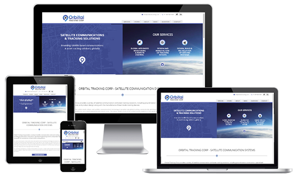 Mobile Friendly Web Design - Orbital Tracking Corp