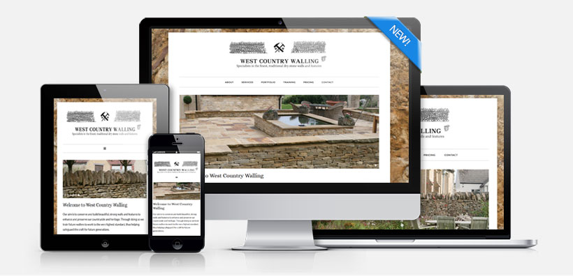 Mobile friendly web design for businesses in Cornwall, the South West and throughout the UK.