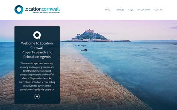 Location Cornwall Web Design & SEO in Cornwall