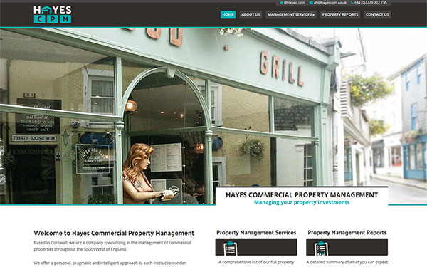 Hayes CPM Web Design & SEO in Cornwall