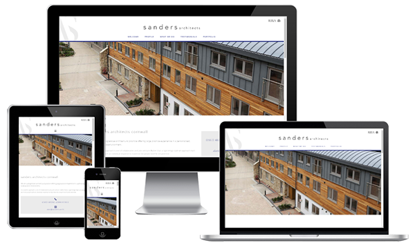 Mobile Friendly Web Design - Sanders Architects