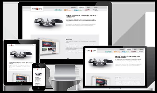 Mobile Friendly Web Design - Three6Zero