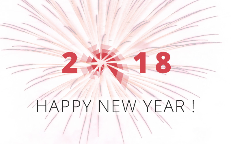 Happy New Year – Wishing you all the very best for 2018!
